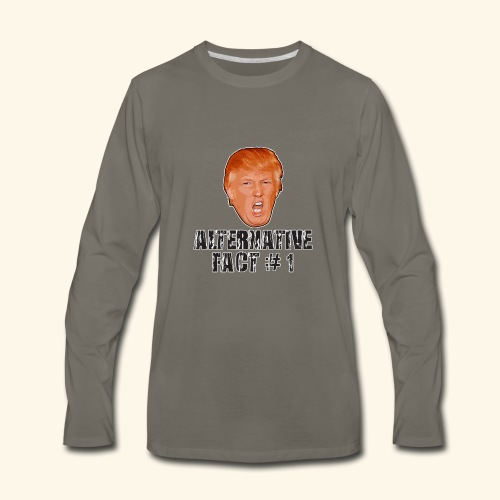 Alternative Fact # 1 - Men's Premium Long Sleeve T-Shirt