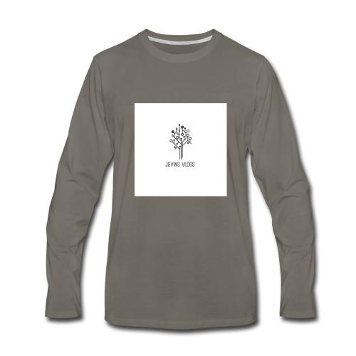Jevins Vlogs - Men's Premium Long Sleeve T-Shirt