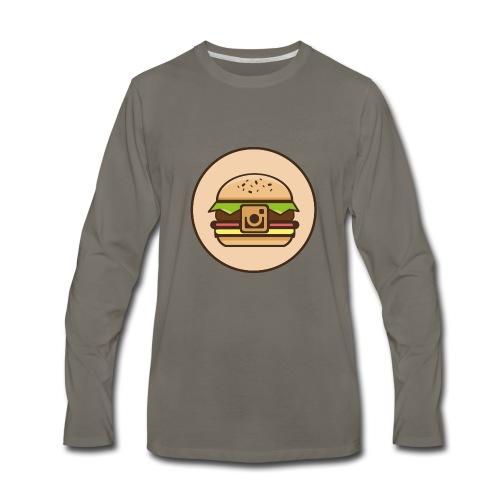 InstaBurger - Men's Premium Long Sleeve T-Shirt