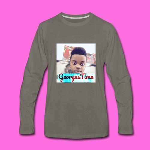 georges shirt - Men's Premium Long Sleeve T-Shirt