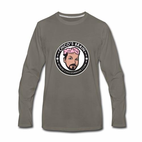 Dark Product Logo - Men's Premium Long Sleeve T-Shirt