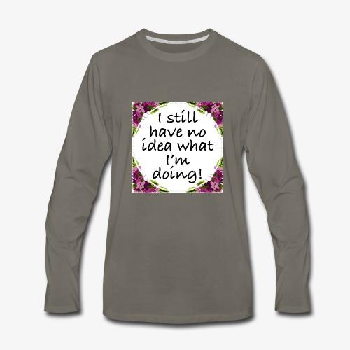 Clueless - Men's Premium Long Sleeve T-Shirt