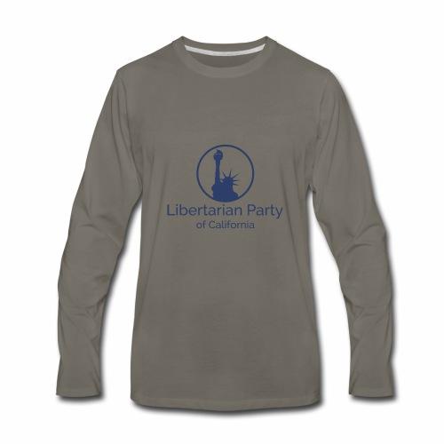LPC Logo Blue - Men's Premium Long Sleeve T-Shirt