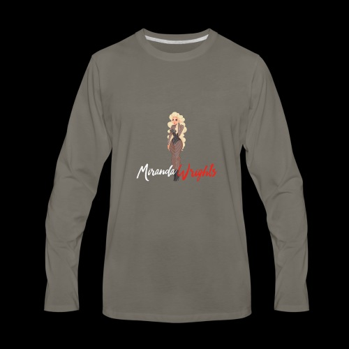Pin-up Miranda - Men's Premium Long Sleeve T-Shirt