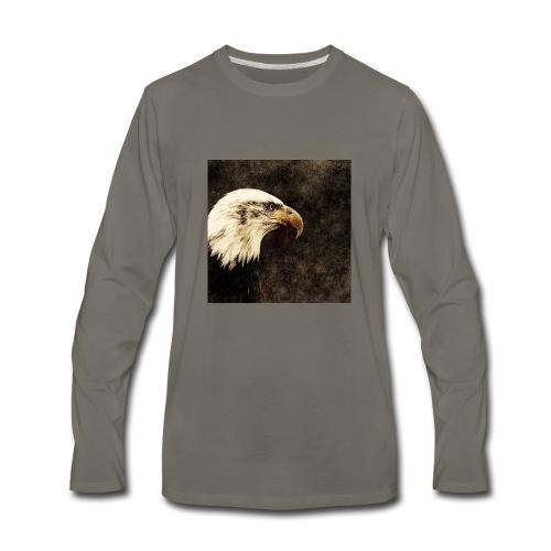 Regal American eagle - Men's Premium Long Sleeve T-Shirt