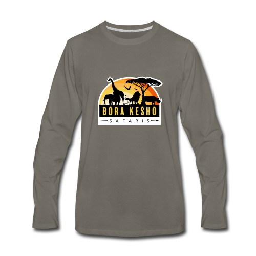 Bora Kesho Safaris - Men's Premium Long Sleeve T-Shirt