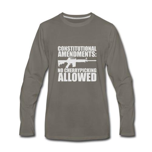 No Cherrypicking Allowed - Men's Premium Long Sleeve T-Shirt