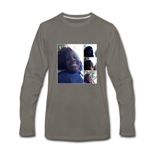 nissi's world - Men's Premium Long Sleeve T-Shirt
