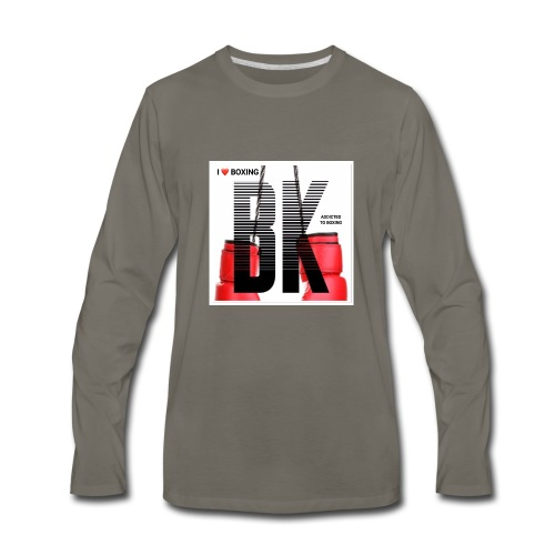 BOXING FINAL - Men's Premium Long Sleeve T-Shirt