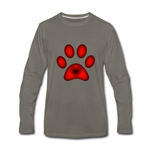 Love of Animals (CHARITY SHIRT) - Men's Premium Long Sleeve T-Shirt