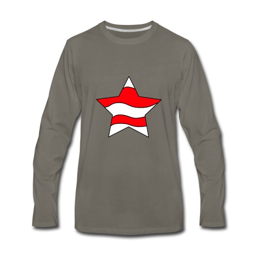 Patriot-1 Emblem - Men's Premium Long Sleeve T-Shirt