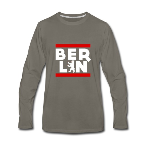 BERLIN - Men's Premium Long Sleeve T-Shirt