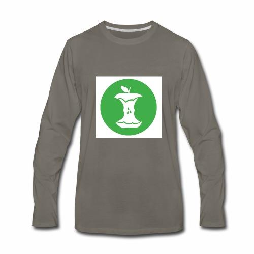 Recycle the Core - Men's Premium Long Sleeve T-Shirt