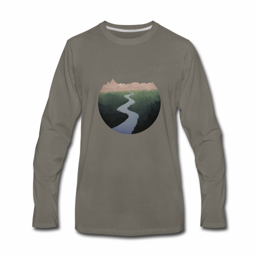 Get Lost With Me - Men's Premium Long Sleeve T-Shirt