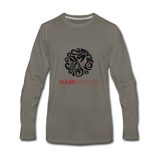Hair Evolve Fan T-Shirt - Men's Premium Long Sleeve T-Shirt