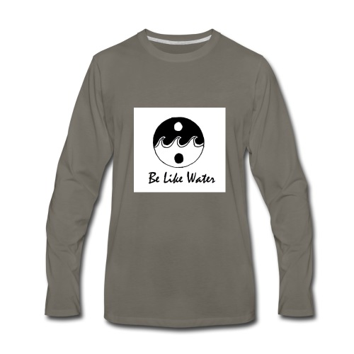 Be Like Water YING - Men's Premium Long Sleeve T-Shirt