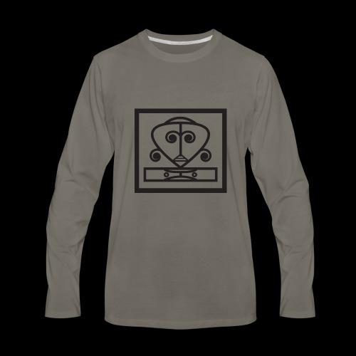 IFE HTP (Logo BLK) - Men's Premium Long Sleeve T-Shirt