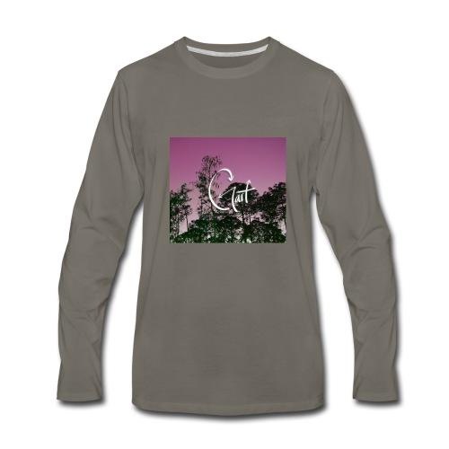 Pink Forest Gart - Men's Premium Long Sleeve T-Shirt