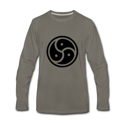 Kink Community Symbol - Men's Premium Long Sleeve T-Shirt