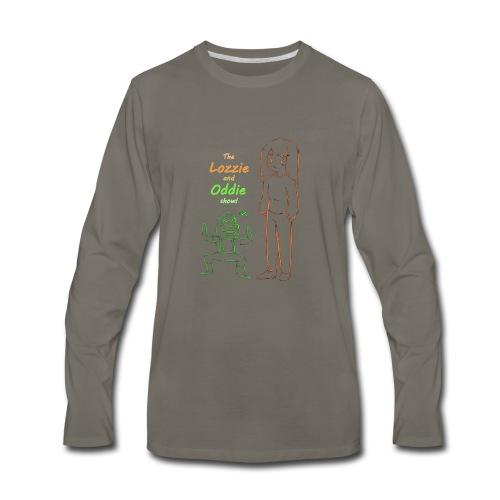 lozzie and oddie show!!!! - Men's Premium Long Sleeve T-Shirt
