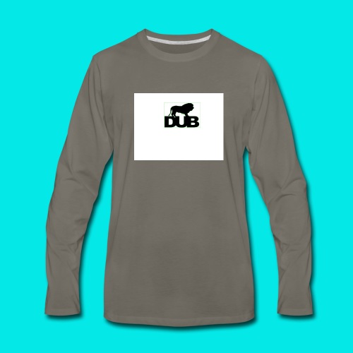 DuB Lion - Men's Premium Long Sleeve T-Shirt