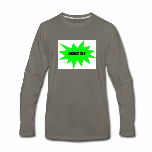 MintDj - Men's Premium Long Sleeve T-Shirt
