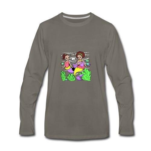 Mermaids - Men's Premium Long Sleeve T-Shirt
