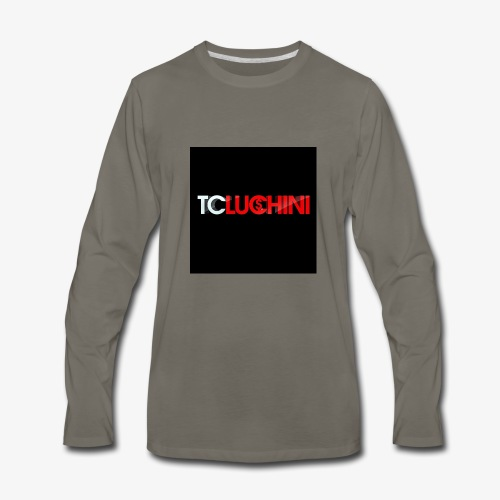TC LUCHINI LOGO - Men's Premium Long Sleeve T-Shirt