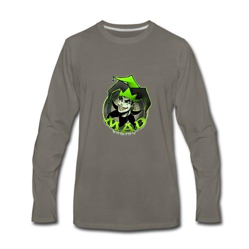 Mad Gaming T-Shirt - Men's Premium Long Sleeve T-Shirt
