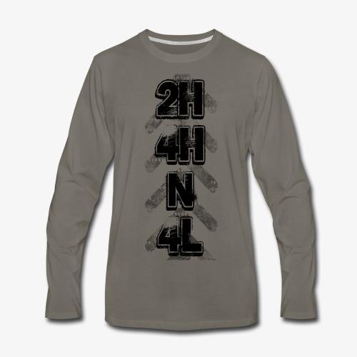 4X4 Shifter BLK - Men's Premium Long Sleeve T-Shirt