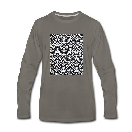 Damask Case - Men's Premium Long Sleeve T-Shirt