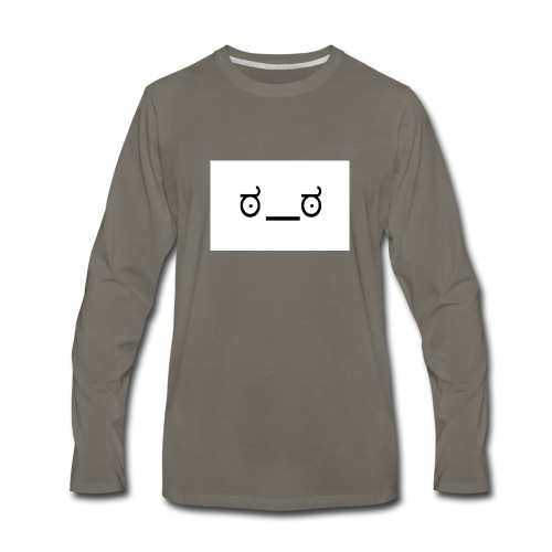 NerdMuffin - Men's Premium Long Sleeve T-Shirt