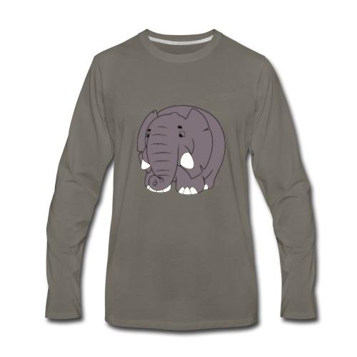 Sammy the Elephant - Men's Premium Long Sleeve T-Shirt