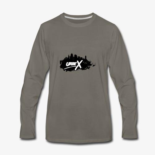Urbex Logo - Men's Premium Long Sleeve T-Shirt