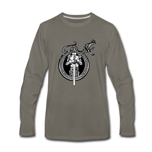 logo knight - Men's Premium Long Sleeve T-Shirt