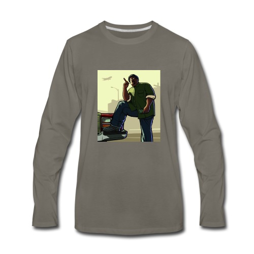 Big Smoke Sa - Men's Premium Long Sleeve T-Shirt