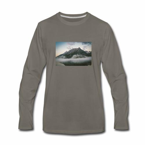 mountain view - Men's Premium Long Sleeve T-Shirt