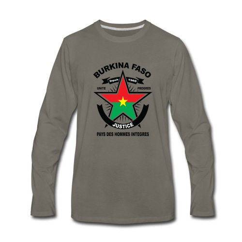 BURKINA_FASO - Men's Premium Long Sleeve T-Shirt