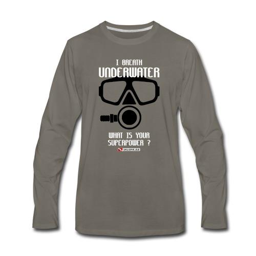 DIVER SCUBA fun - Men's Premium Long Sleeve T-Shirt