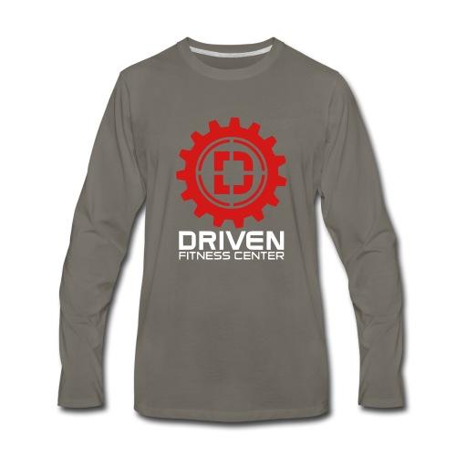 Stacked Logo - Men's Premium Long Sleeve T-Shirt