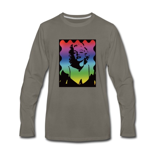 Marylyn M. - Men's Premium Long Sleeve T-Shirt