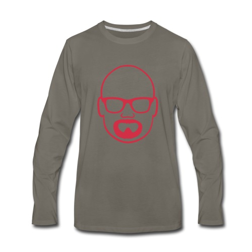 MDW Music official remix logo - Men's Premium Long Sleeve T-Shirt