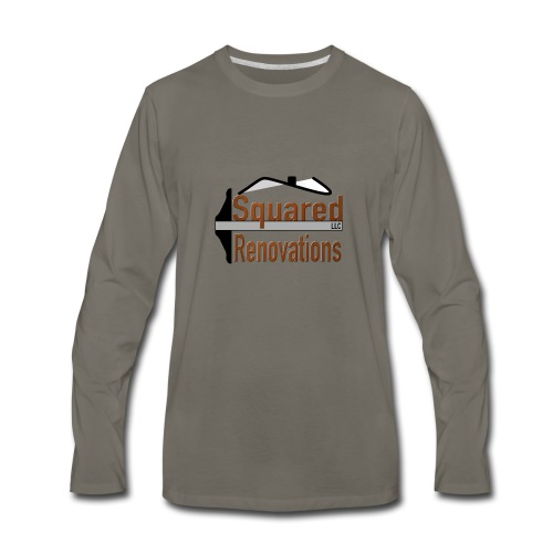 Squared Renovations LLC - Men's Premium Long Sleeve T-Shirt