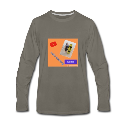 Luke Gaming T-Shirt - Men's Premium Long Sleeve T-Shirt