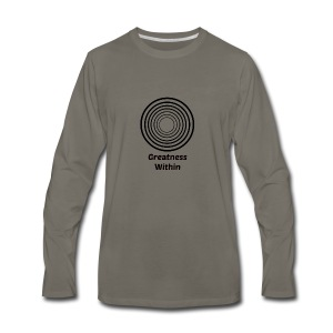 Greatness Within - Men's Premium Long Sleeve T-Shirt
