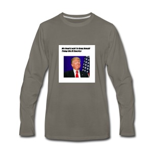 Only For Donald Trump Haters - Men's Premium Long Sleeve T-Shirt