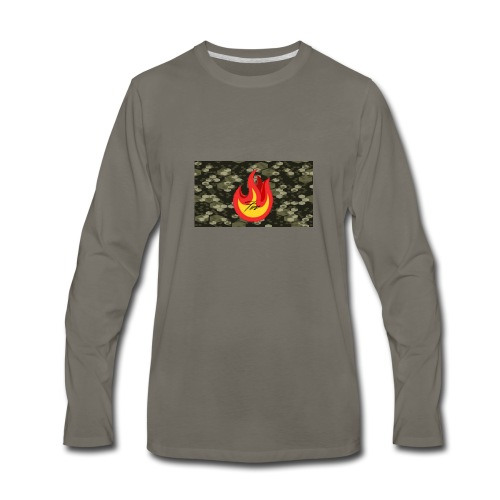 FireBrandV2 - Men's Premium Long Sleeve T-Shirt