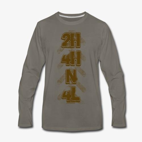 4X4 Shifter BRWN - Men's Premium Long Sleeve T-Shirt