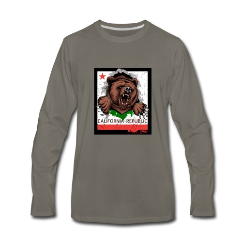 California Bear - Men's Premium Long Sleeve T-Shirt