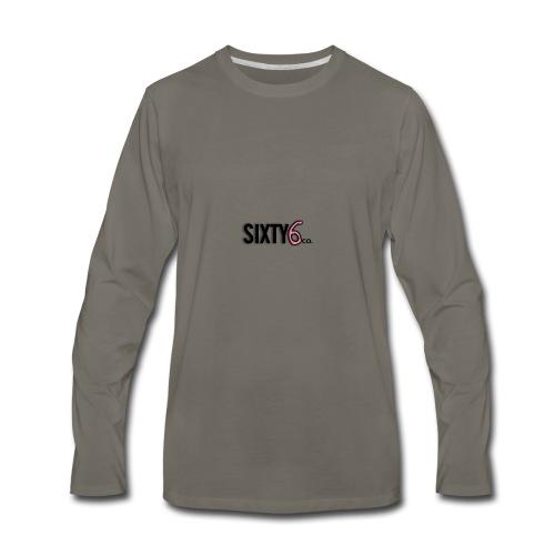 Sixty6Pocket - Men's Premium Long Sleeve T-Shirt
